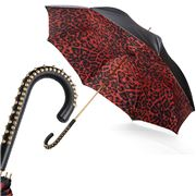 Pasotti - Umbrella Double Cloth Leopard Stud Red