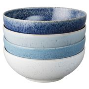 Denby - Studio Blue Cereal Bowl Set 4pce