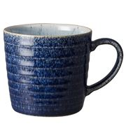 Denby - Studio Blue Ridged Mug Cobalt/Pebble
