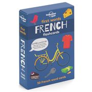 Lonely Planet - First Words French Flashcards 50pk