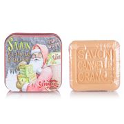 La Savonnerie De Nyons - Santa Cin. Orange Tinned Soap 100g