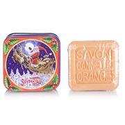 La Savonnerie De Nyons - Sleigh Cin. Orange Tinned Soap 100g