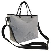Prene Bags - The XS Bag Light Grey Marle