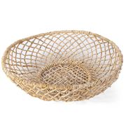 Papaya - Cicely Wide Woven Tray Medium