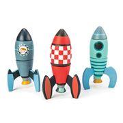 Tender Leaf Toys - Rocket Construction 18pce