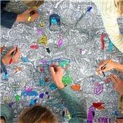Eat Sleep Doodle - Zoo Tablecloth