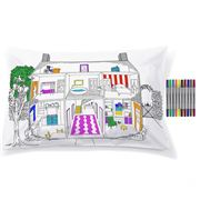 Eat Sleep Doodle - Home Decorator Pillowcase