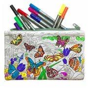 Eat Sleep Doodle - Butterfly Pencil Case