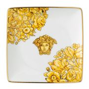 Rosenthal - Versace Medusa Rhapsody Square Flat Dish 12cm