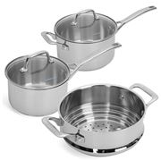 Pyrolux - Pyrosteel Cookware Set 3pce