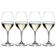 Riedel - Vinum Champagne Wine Glass Set 4pce