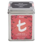Dilmah - t-Series Rose with French Vanilla Tin Caddy 100g