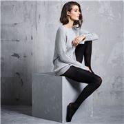 Levante - Fine Wool Tights Nero Medium