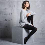 Levante - Fine Wool Tights Nero Tall