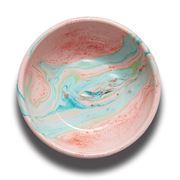 Bornn - Marble Enamel Bowl Blush 17cm