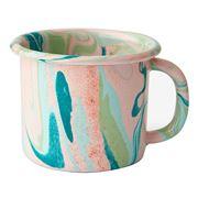 Bornn - Marble Enamel Mug Blush 300ml