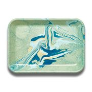 Bornn - Marble Rectangular Tray Mint