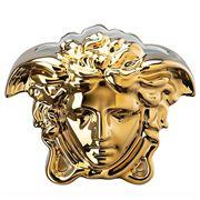 Rosenthal - Versace Medusa Grande Vase Gold 15cm