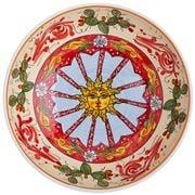 Ceramiche Siciliane - Sicily Line Salad Bowl Sun 30cm