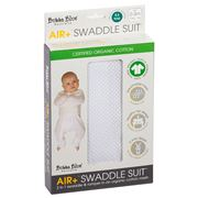 Bubba Blue - Air+ Swaddle Suit White 0-3months