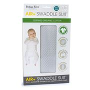 Bubba Blue - Air+ Swaddle Suit Grey 0-3months