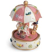 Gibson Baby - Baby Girl Teddy Carousel
