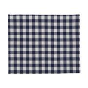 Lexington - 5 Star Tablecloth Gingham White/Blue 150x250cm