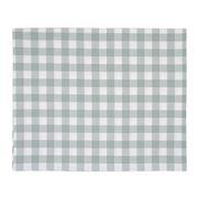 Lexington - Hotel Gingham Tablecloth White/Green 150x250cm