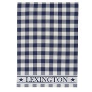 Lexington - 5 Star Kitchen Towel  Gingham Blue/White 50x70cm