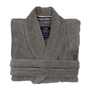 Lexington - Hotel Velour Robe Grey Extra Small