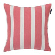 Lexington - Wide Stripe Sham Cushion Red & White 50x50cm