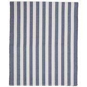 Lexington - Striped Runner Blue/White 50x250cm