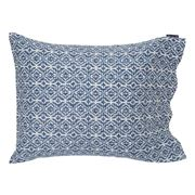Lexington - Blue Printed Sateen Pillowcase 50x75cm