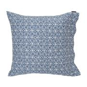 Lexington - Blue Printed Sateen Blue/White Pillowcase Small