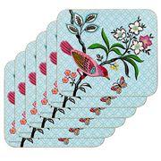 Ashdene - Jardin Peony Coaster Set 6pce