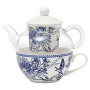 Ashdene - Tea For One Indigo Blue