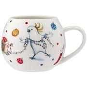 Ashdene - Barney Christmas Charles and Robert Mini Hug Mug