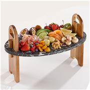 Ladelle - Stone Tapas Board Black 45cm