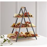 Ladelle -  Serve & Share Acacia Wood Serving Tower