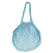 Karlstert - String Market Bag Long Handle Blue