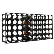 Stakrax - Modular Wine Storage Kit 50 Bottle Black