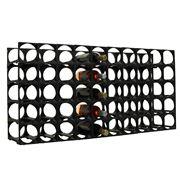 Stakrax - Modular Wine Storage Kit 50 Bottle Black