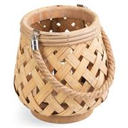Luxe By Peter's - Lantern Bamboo Semussac 22cm
