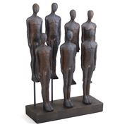 Luxe By Peter's - Resin People On Stand 44cm