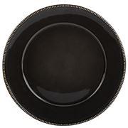 Costa Nova - Luzia Charger Plate /Platter Dark Grey 34cm