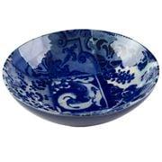 Costa Nova - Lisboa Blue Tile Pasta Plate 21cm