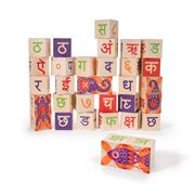 Uncle Goose - Hindi Language Blocks Box 32pce