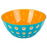 Guzzini - Le Murrine Bowl Blue/White/Orange 25cm