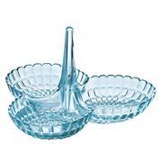 Guzzini - Tiffany Hors D'Ouevres Dish Sea Blue