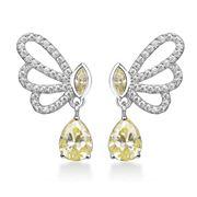 Steven Khalil - Papillon Drop Earrings